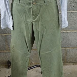 Olive Old Navy pant size 10